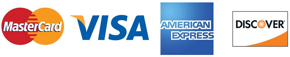 Major Credit Card Logos